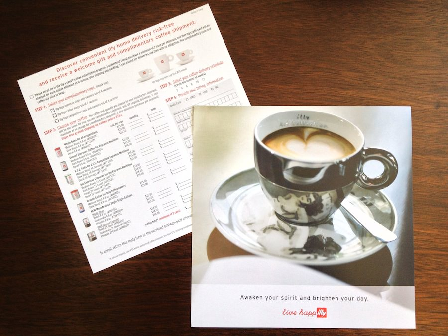 illy subscription